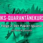 Papier-Iguana © Marie Donath