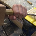 Holzschnitzen © Brunhilde Duben
