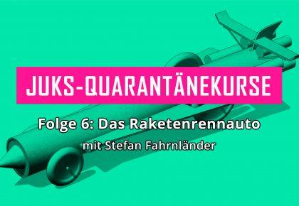 Raketenrennauto © Stefan Fahrnländer