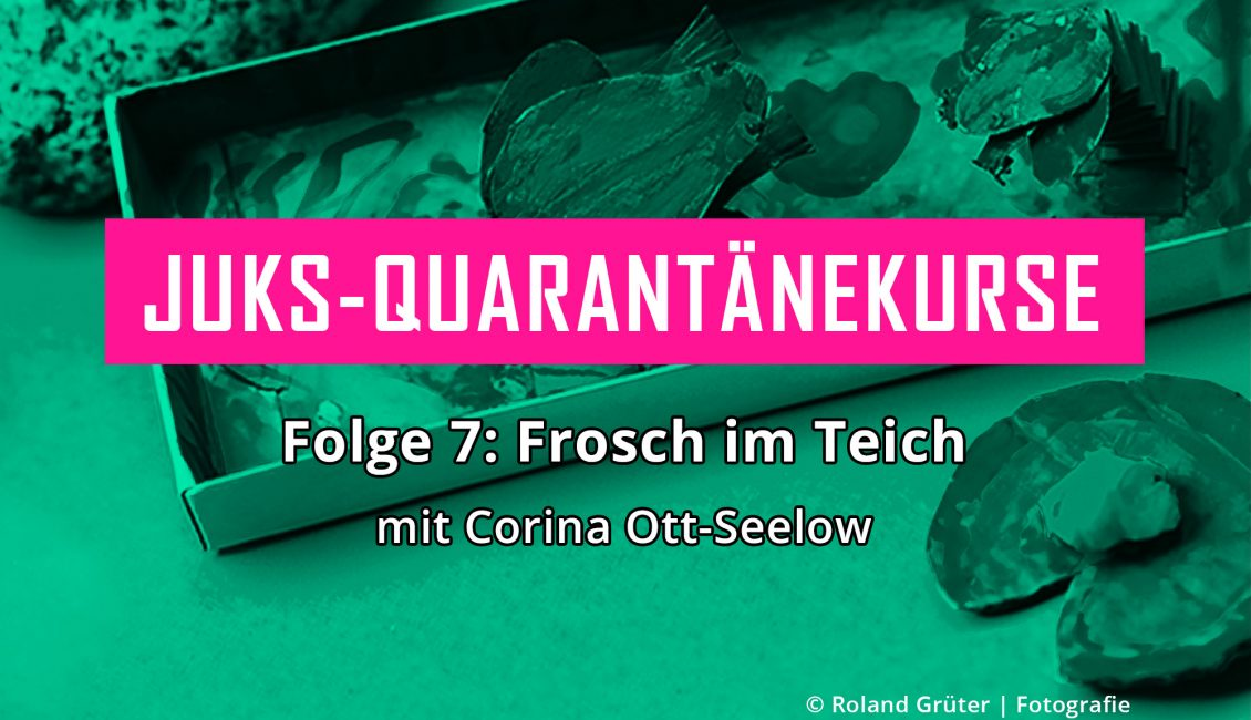 Frosch im Teich © Roland Grüter | Fotografie