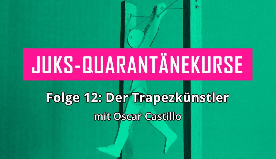 Der Trapezkünstler © Oscar Castillo